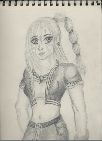 File:Kidd from Chrono Cross pencils by OhioErieCanalGirl.jpg